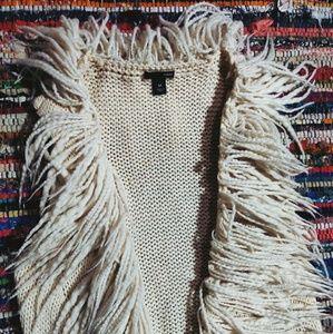 🐺 Fringe Knit Vest 🐺